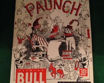 1953 Issue of 'Crimson Bull' -- Satirical Magazine for Indiana University **No Shipping