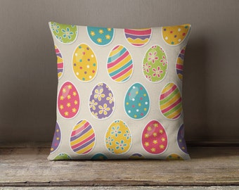Easter Pillow | Easter Decorations | Easter Gifts | Easter Throw Pillow | Easter Bunny | Easter Decor | Decorative Pillow | Easter Egg