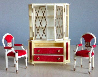 Petite Princess Doll House Furniture Ideal Toys 1960s