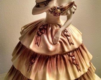 Vintage Goldscheider Porcelain Southern Belle