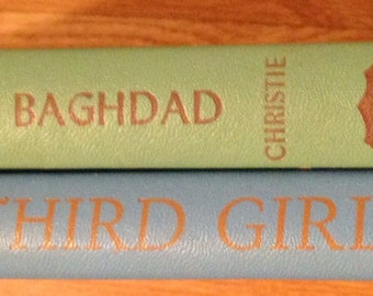 Mid Century Agatha Christie Novels~They Came To Baghdad and Third Girl