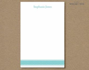 Polka Dot customized notepad