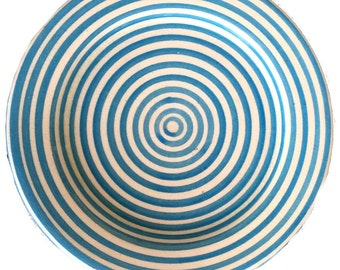 BULLSEYE appetizer plates - set of 4