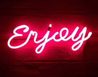 Neon Sign ENJOY