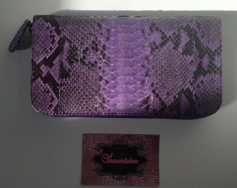 Luxury Genuine Python Leather Wallet