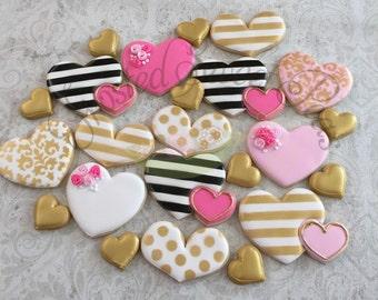 2 doz Valentine Cookie Assortment