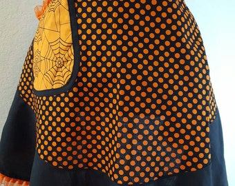 Halloween cooking apron. ON SALE NOW.