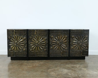 Adrian Pearsall Brutalist Cabinet