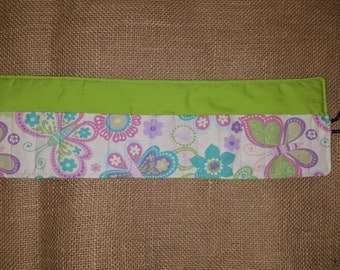 Green-Butterfly-Crayon Roll-16 Count