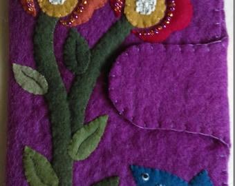 Primitive Flower Tablet Cover