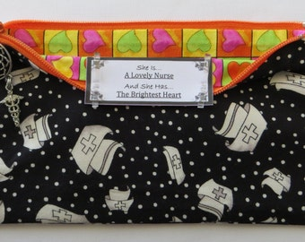 Persette #240 Personalized Zippered Organizing Pouch