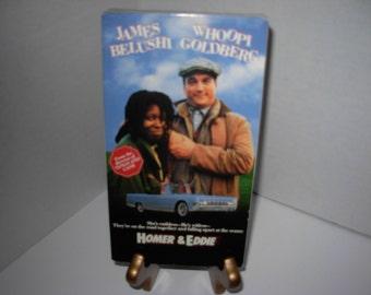 Homer & Eddie, VHS Tape, In Color, James Belushi, Whoopi Goldberg, Free Shipping