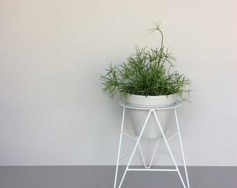 T-Planter plant stand 'Lunar Grey'