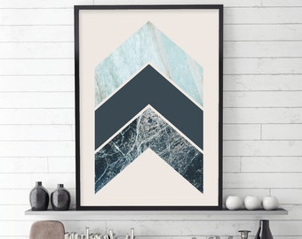 Scandinavian Modern, Scandinavian Arrows, Scandinavian Chevron, Scandinavian Art, Scandinavian Print, Downloadable Print, Printable Art