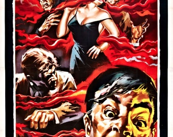 The Blob Movie POSTER (1958) Cult/Indie