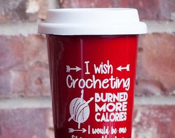 Crochet Lovers Latte Mug