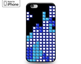 Classic Retro Video Game Blocks Tetris Cool Case for iPhone 6S iPhone 6S Plus iPhone 6 iPhone 6 Plus iPhone 5S iPhone 5 iPhone 5C iPhone SE