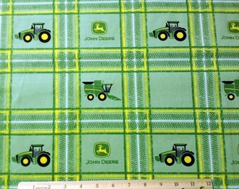 John Deere Plaid