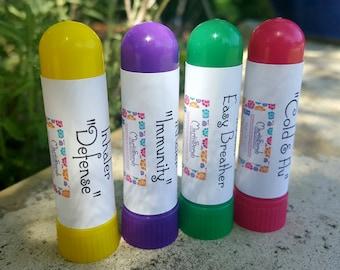 Aromatherapy Nasal Inhaler / Allergy Relief / Immune System Support