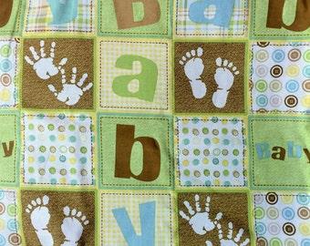 Crib Baby Blanket - Baby Nursery Blanket - Baby Shower Gift - Reversible Stroller Blanket - Extra Large Bedding - Nursery Decor - Toddler