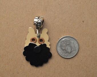 Brussels Griffon Pendant Pet Dog Metal Charm