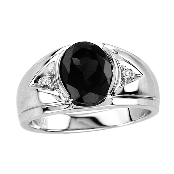 s onyx ring 925 sterling silver ring with by geminmotion