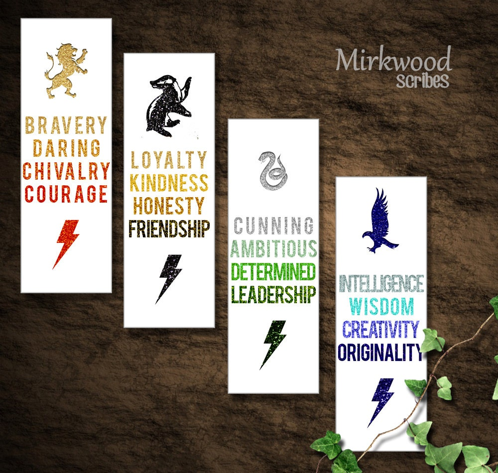 Amazing image pertaining to harry potter printable bookmark