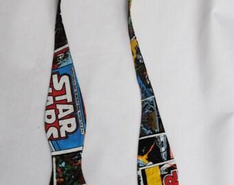 Star Wars Classic Comic Book Men's Adjustable Self Tie Bow Tie