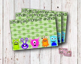 Monster Party, Thank You Cards, Monster Birthday, Little Monster, Invitations, Thank You's, Gift Thank You, Thank You, First Birthday