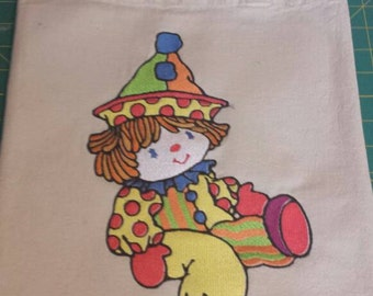 CLOWN available  in 5 SIZES up to 7 X 11 inches