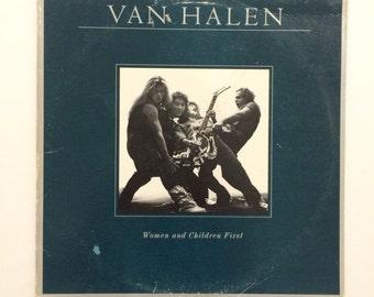 Van Halen - Women and Children First  vinyl record album LP
