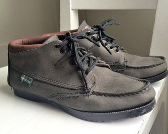 Women's Eastland Green Leather Ankle Boots Size 7