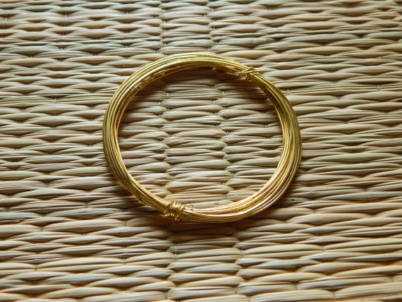 Gold jewelry wire 22 gauge craft wire jewelry wire spool for 22 gauge craft wire