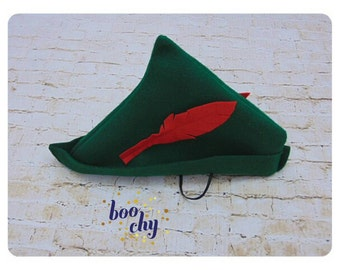 Peter Pan Hat, Belt and Dagger