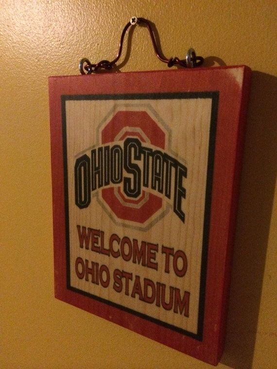 Ohio State Man Cave Signs : Ohio state buckeyes football stadium man cave by