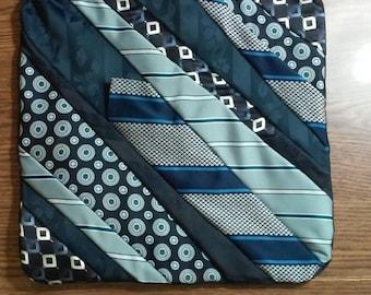 "Necktie Memory Pillow Cover 16 x 16"""