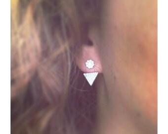 """Earrings """"Triangle"""""""