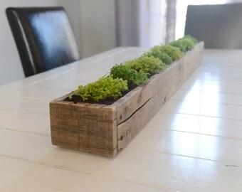 Wood Table Runner Box