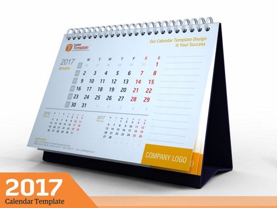 2017 Schreibtisch Kalender