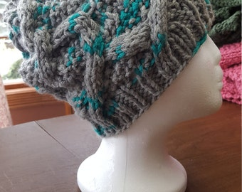 Beautiful Ladies Cabled Hat