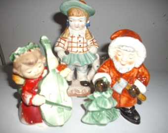 Christmas Figurine Lot