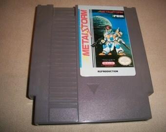Metal Storm Metalstorm NES Nintendo reproduction Game