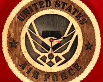 Air Force Clock Tribute