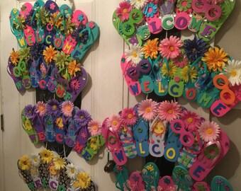 Flip flop wreath/ each