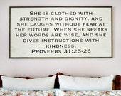 Proverbs 31:25 2x4 Handpa...