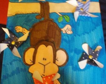 Monkey juggling