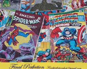 Marvel Superheroes Fabric-Comic Print-Fabric by the Yard