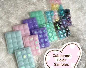 Cabochon - Kawaii Glitter Pastel Chocolate - Pieces 2