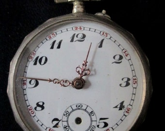 Old watch FOB housing money to restore - 20503