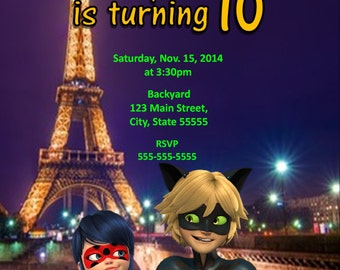 Miraculous: Tales of Ladybug and Cat Noir invite